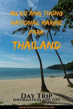 Thailand is well known for it's stunning island paradises. Mu Ko Ang Thong National Marine Park consists of 42 such islands. All you need to know on how to visit this beautiful utopia, including tips and information on how to make the most out your visit. Thailand Vacation, Thailand Travel Guide, Marine National Park, National Parks, Wanderlust Travel, Asia Travel, Thailand Adventure, Adventure Travel, Backpacking Asia