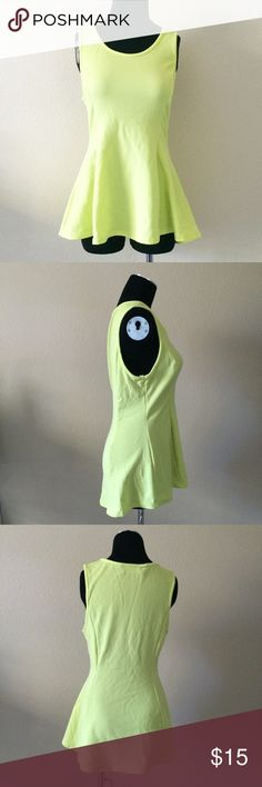 1x lime peplum top 1x plus size like peplum top. Looks exceptional with necklace picture (not included but available in separate listing. ) marianne Tops Blouses