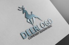 Deer Logo by josuf on Creative Market