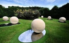 The cosmic evolution garden by Christine Facer