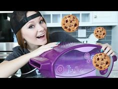 She has a show-ready kitchen, personality to spare, and an #easybakeoven.
