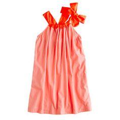 karsy? jcrew Girls' bow-back dress
