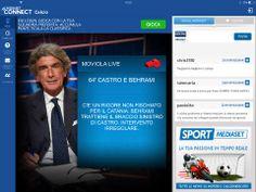 """Mediaset Connect è l'applicazione Second Screen di Mediaset: scaricala gratuitamente e scopri tutti gli appuntamenti che ti aspettano! Il countdown scandisce l'avvicinarsi all'evento e si trasforma in """"Live Now"""" a programma iniziato."""