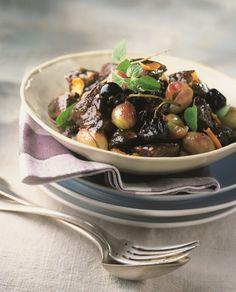 Daube de bœuf aux raisins Marie Claire, Raisin, Lunch, Kitchen, France, Kitchenaid, Cucina, Cooking, Eat Lunch