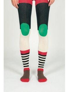 Henrik Vibskov Bauhaus Stockings (Red)