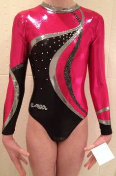 Christian moreau leotards are always stunning - it think the only thing we'd prefer would be the pink on the neckline too!