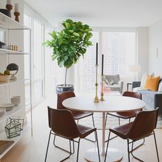 ABC Home x Gotham West x @Homepolish Apartment • designed by Noa Santos and Justin DiPiero