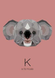 https://www.behance.net/gallery/Animal-Alphabet/12169985 k is for koala