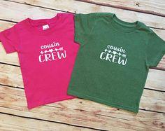 d347d6f32 Cousin Crew Matching Cousin Shirts/Cousin Crew/Toddler Youth Matching  Shirts/Cousin Crew/Kids T-Shirt/Unisex/Girl or Boy Cousin Shirt