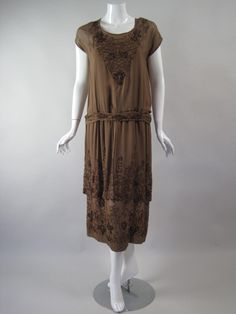 Womens Dresses 1920s :: brown20s1.jpg picture by theselvageyard - Photobucket
