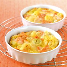 WeightWatchers.fr : recette Weight Watchers - Clafoutis de saumon aux légumes