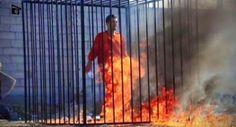 R12 Noticias: Queimados vivos:Os militantes do grupo terrorista Estado Islâmico queimaram 43 pessoas em uma jaula.
