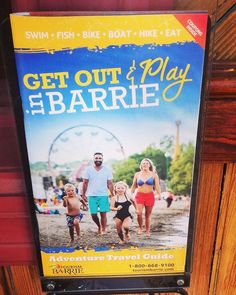 Have you picked up your new #Barrie #summer #adventure #travel #guide yet? Be sure to stop by #TourismBarrie in the Southshore Centre or…