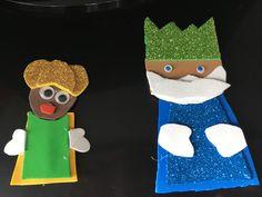Imán y prendedor de Reyes Magos
