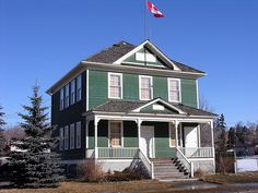 I always wondered what this building was... just off kensington road and crowchild I believe...   Grand Trunk Cottage School Building by crossarthur76, via Flickr