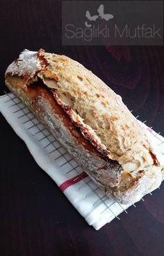 kek kalıbında ekşi mayalı ekmek
