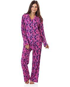 22e7025f84 BHPJ By Bedhead Pajamas Women s Long Sleeve Classic Pajama Set - Purple Pop  Pentunia - X