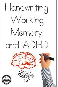 Many times children with ADHD may display difficulties with legibility and speed of during school activities. Recent research examined handwriting, working memory, and ADHD in 16 fourth and fifth-grade children compared to age-matched control children. Adhd Odd, Adhd And Autism, Adhd Signs, Dysgraphia, Dyslexia, Adhd Brain, Adhd Help, Adhd Diet, Adhd Strategies