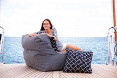 Coast Isla Outdoor Beanbag Chair