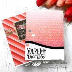 Favorite Person: Simon Says Stamp Card Kit Reveal and Inspiration