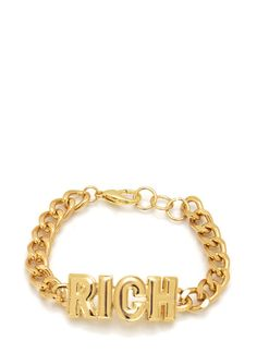 rich chain bracelet $9.10