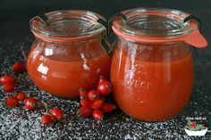 šípková marmeláda Marmalade Jam, Sweet Cakes, Nutrition, Kimchi, Food Storage, Sweet Recipes, Pesto, Jelly, Smoothie