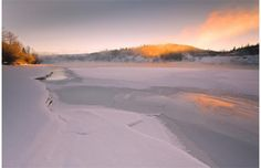 """Photo by Burton Xu. Title is """"River Sunrise - Rundle Park."""" Burton Xu is one of six finalists in the Winter in the River Valley photo contest sponsored by the River Valley Alliance. Xu's image is one of three finalists in the Nature at Its Best category. People can go to http://www.rivervalley.ab.ca/ to vote for the winner."""