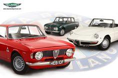"""Alfa Romeo: Giulia GTA, Giulia Super saloon, spider """"duetto"""""""