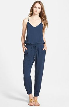 Splendid+Cross+Back+Jumpsuit+available+at+#Nordstrom