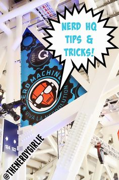 The Nerdy Girlie: San Diego Comic Con: Nerd HQ Tips & Tricks! #SDCC Tips