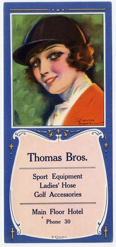 BLOTTER Advertising with Pretty Women in Horse Riding Clothes THOMAS BROS Sports #ThomasBrosSportEquipment