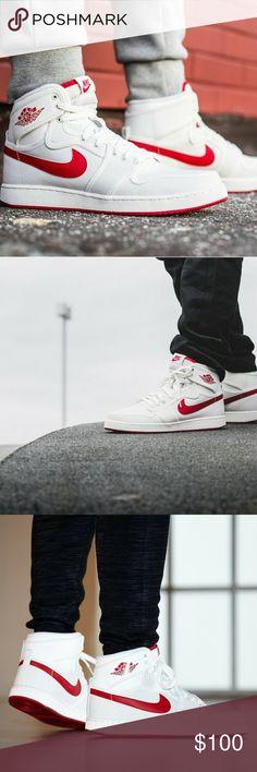 JORDAN AJ1 KO HIGH OG? MEN'S  JORDAN AJ1 KO HIGH OG?  SIZE 11  COLOR: SAIL/VARSITY RED?  BRAND NEW NEVER WORN Jordan Shoes Sneakers