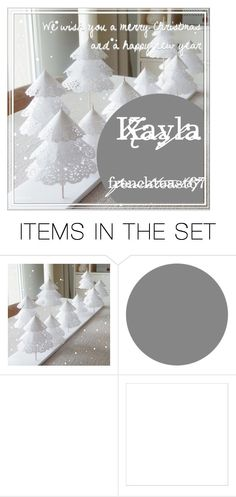 """Merry Christmas and a happy new year"" by flowersgalore ❤ liked on Polyvore featuring art"