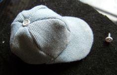 how to: miniature baseball cap
