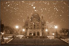 Paris by a snowy morning - Le Sacré coeur | by Ilan_g