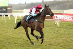 Winning the bumper at Newbury first time out - Feb 2013