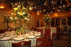Beautiful small wedding reception