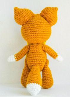 Baby fox crochet pattern free amigurumi