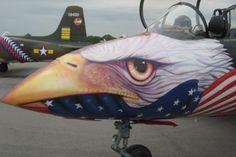 Fighter jet art
