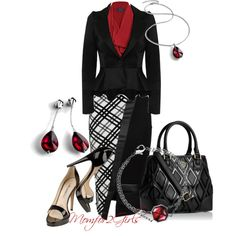 """Always Red"" by momfor2girls on Polyvore"