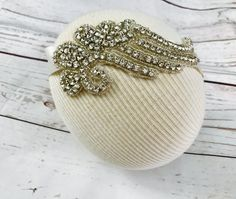 Beaded headband by tutusandbowtie on Etsy