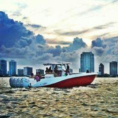 Boats for rent in Miami by South beach Exotic Rentals. #deepimpactboats #DeepImpact #36 #Quad300 #MiamiLuxuryRentals
