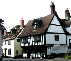 The 15th century Green Dragon pub in Wymondham, Norfolk. England