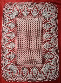 Hackovany obrus / crochet tablecloth