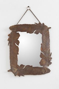 Feather Wall Mirror #urbanoutfitters