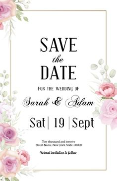 Memorial program Card template for women with beautiful Pink Floral color. This template is a great way to honor your loved one. Half Page Wide. Tags: invitation card, pink floral save the date postcard, save the date, save the date invitation, wedding inviation, Wedding , Wedding