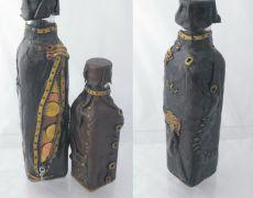 Steampunk bottle - Sticla  decorata steampunk Steampunk, Water Bottle, Handmade, Hand Made, Water Flask, Water Bottles, Arm Work