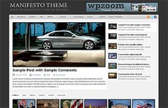 Manifesto Wordpress Magazine Theme - Magazine Wordpress Template