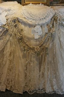 Rosemary Cathcart Antique Lace and Vintage Fashion: Sheelin Antique Lace Shop