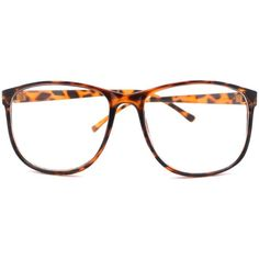 Tortoise Large Nerdy Thin Plastic Frame Clear Lens Eye Glasses Frame (170 UYU) ❤ liked on Polyvore featuring accessories, eyewear, eyeglasses, glasses, sunglasses, plastic eyeglasses, clear plastic eye glasses, tortoise shell glasses, plastic eye glasses and tortoise shell eyeglasses